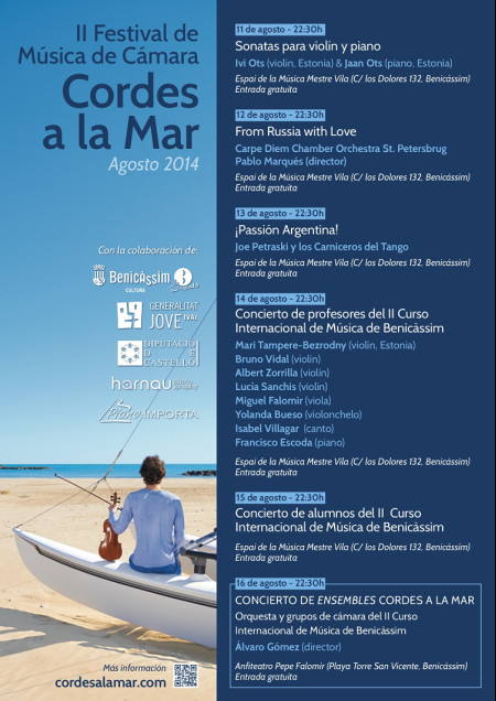 II Festival de música de cámara. Cordes a la mar