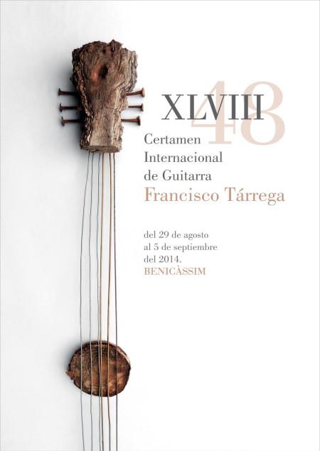 XLVIII CERTAMEN INTERNACIONAL DE GUITARRA FRANCISCO TÀRREGA