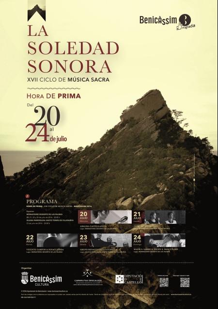 XVII CICLO DE MÚSICA SACRA. HORA DE PRIMA