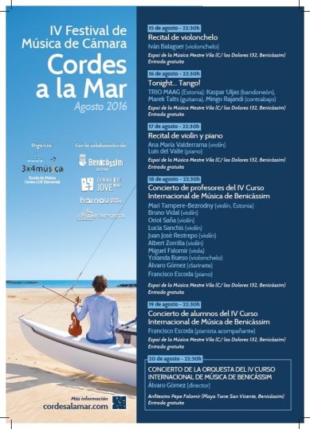 IV Festival de Música de Cámara Cordes a la Mar