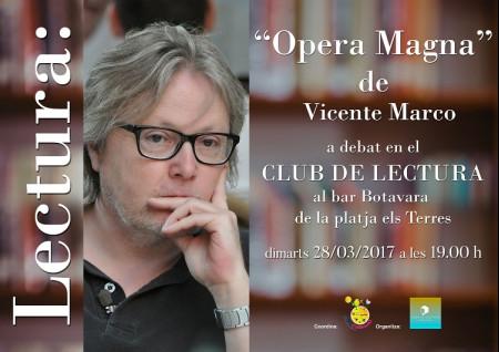 CLUB DE LECTURA EN MARZO