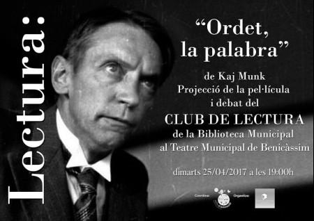 CLUB DE LECTURA EN ABRIL