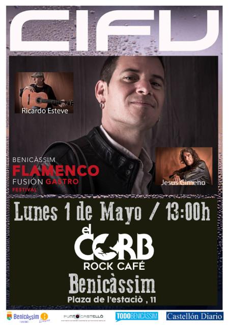 """Actuación """"Cifu"""" - Benicàssim Flamenco Fusión Gastro Festival"""