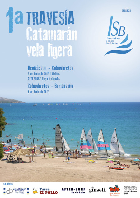 1ª Travesía Catamarán Vela ligera Benicàssim - Columbretes