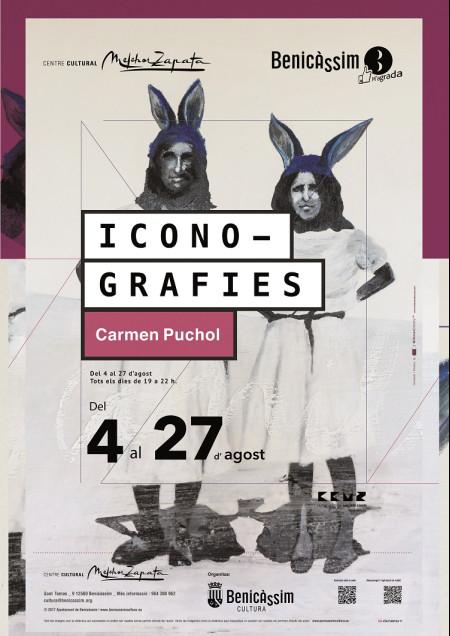 EXPOSICIÓN DE CARMEN PUCHOL. ICONOGRAFIES