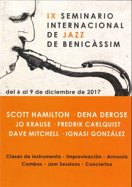 IX SEMINARIO INTERNACIONAL DE JAZZ DE BENICÀSSIM