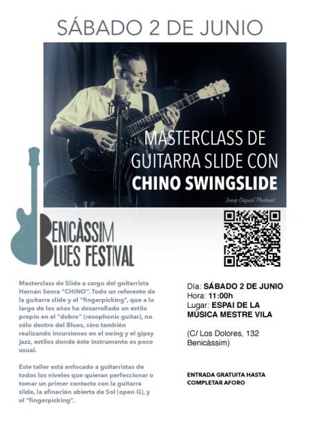 Master Class de guitarra - Benicàssim Blues Festival