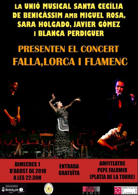 CONCIERTO FALLA, LORCA Y FLAMENCO