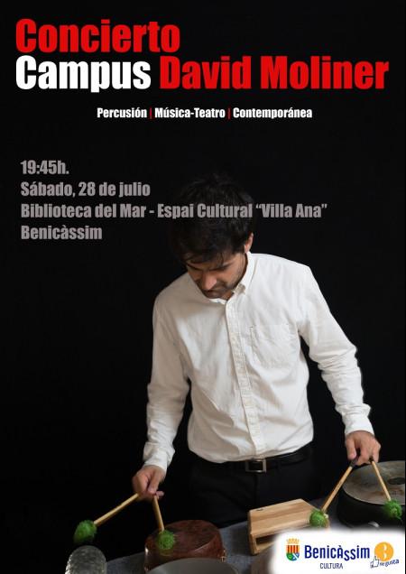 CONCIERTO CAMPUS. DAVID MOLINER