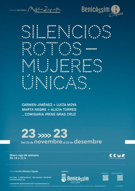 EXPOSICIÓN SILENCIOS ROTOS-MUJERES ÚNICAS