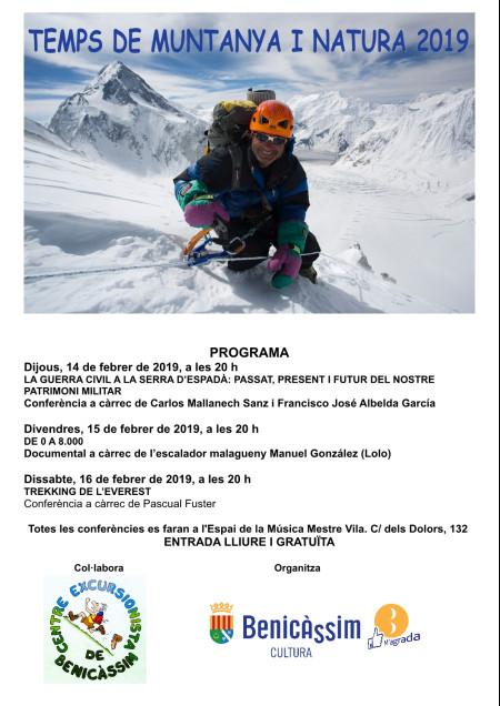 Documental a cargo del escalador malagueño Manuel González (Lolo)