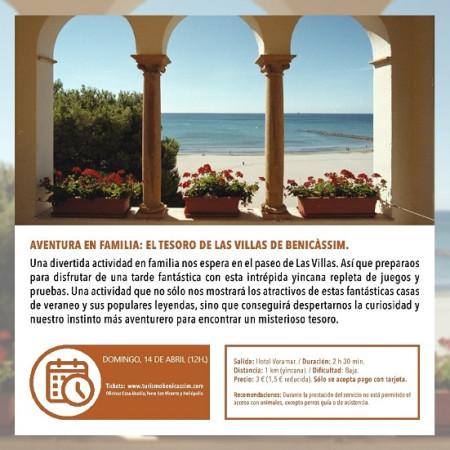 Programa oficial de visitas guiadas. Aventura en familia: el tesoro de las villas de Benicàssim.