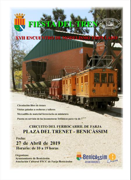 Fiesta del Tren - Parque del Trenet Benicàssim