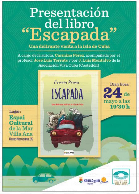 """PRESENTACIÓN DEL LIBRO """"ESCAPADA"""""""