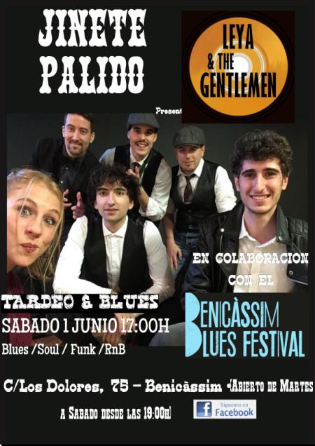Actuación Leya & The Gentlemen - Jinete Pálido Benicàssim