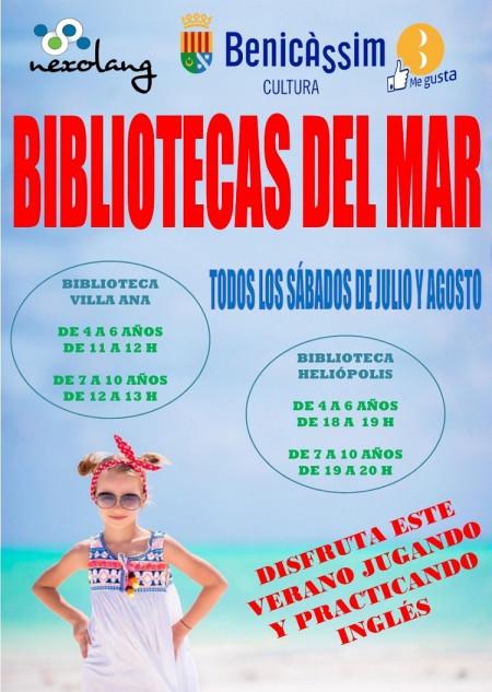 INGLÉS EN LAS BIBLIOTECAS DEL MAR
