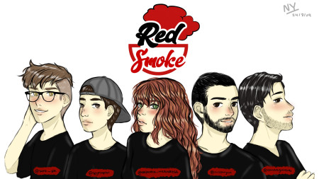 ARTE POP-RED SMOKE