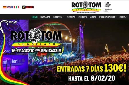 Festival de Reggae Rototom Sunsplash 2020
