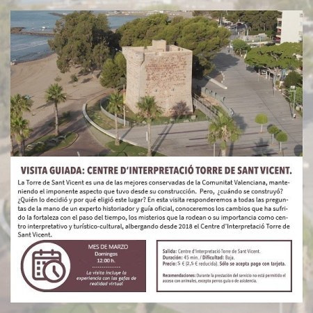 Visita guiada: Centre d'Interpretació Torre de Sant Vicent