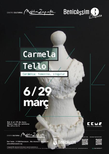 EXPOSICIÓN DE CARMELA TELLO