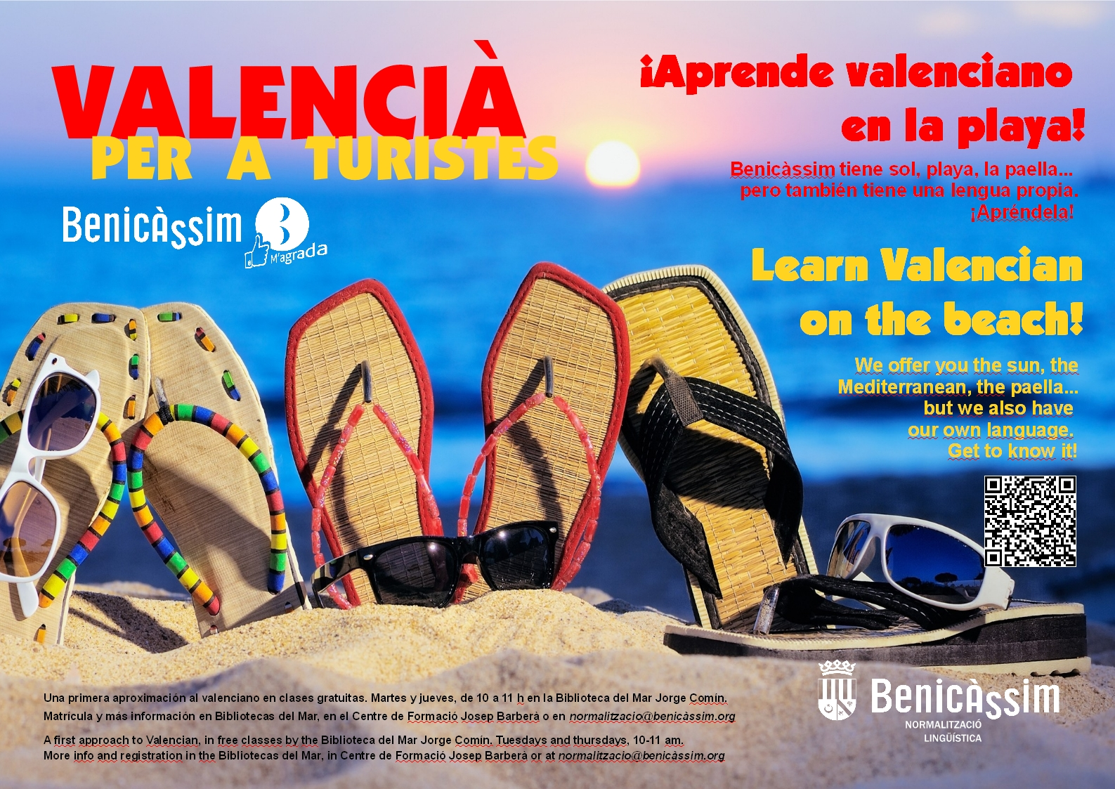 """""""Valencià per a turistes"""", una forma fácil de aprender valenciano por parte de los turistas"""