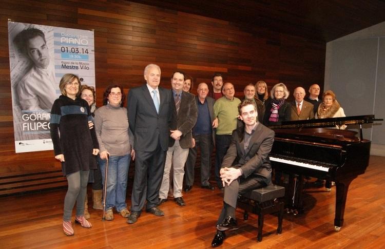 Recital extraordinario de Goran Filipec