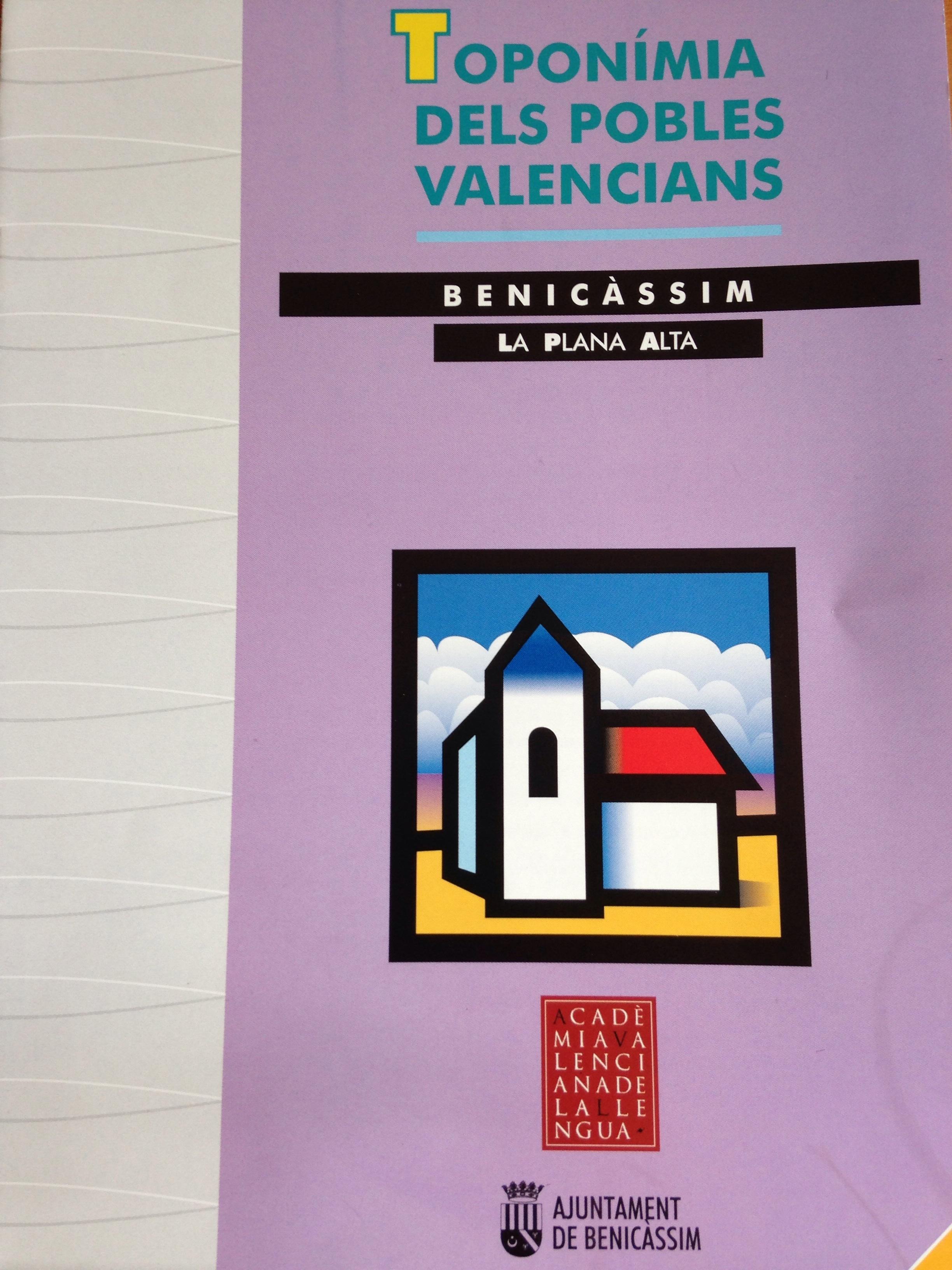 La AVL edita una publicación sobre la toponímia del municipio