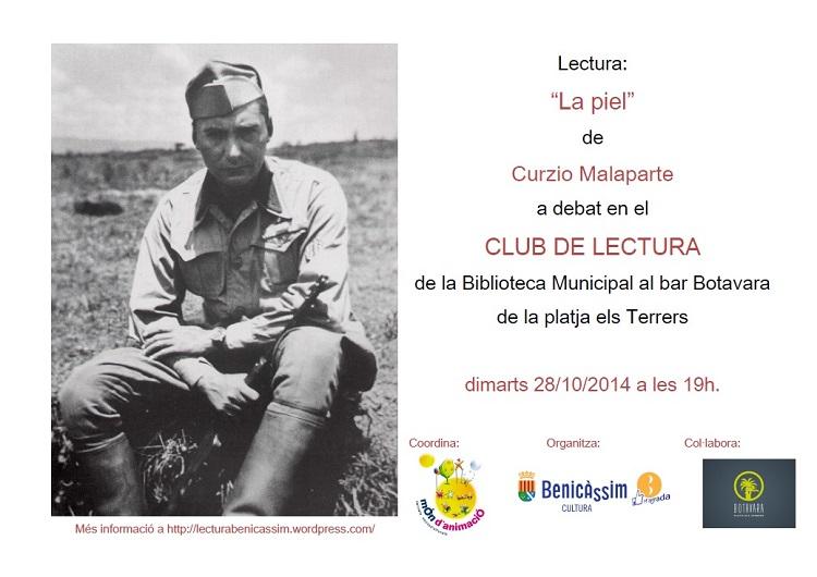 Curzio Malaparte, invitado del mes en el Club de Lectura
