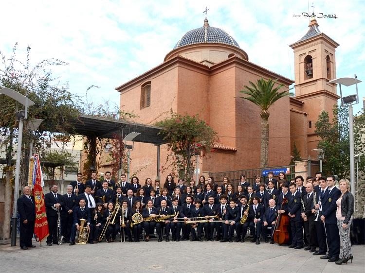 La Banda sinfónica de la UM Santa Cecilia cierra el ciclo de Música i Tardor