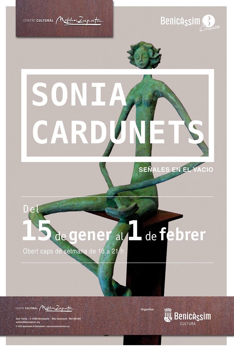 Sonia Cardunets expone sus esculturas en el Melchor Zapata del 15 de enero al 1 de febrero