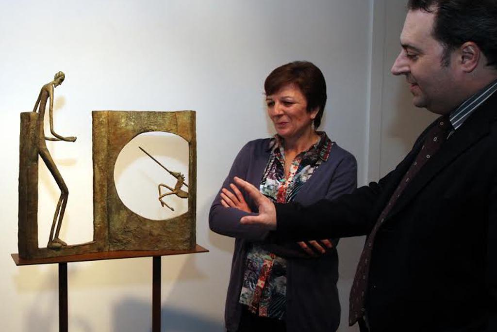 La muestra escultórica de Sonia Cardunets, abierta hasta el 1 de febrero en el Melchor Zapata