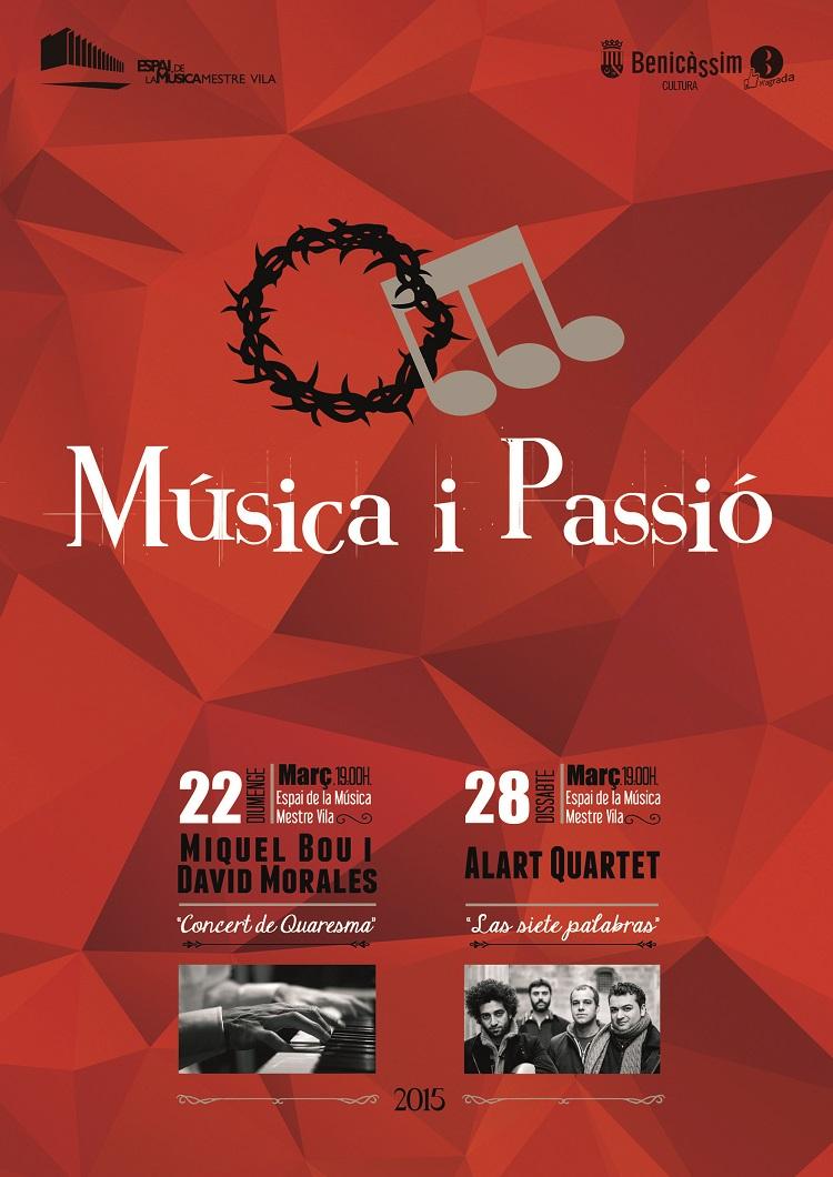 III Ciclo Música i Passió, los días 22 y 28 de marzo.