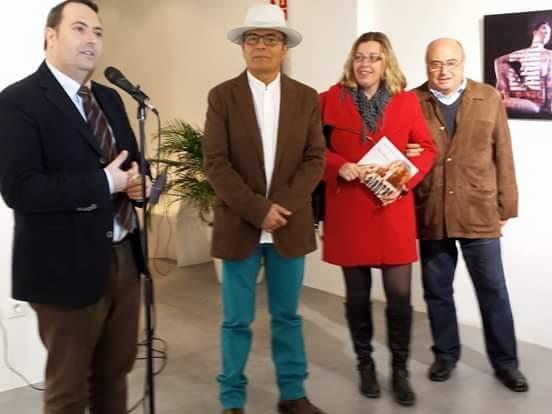 Inagurada la exposición de Jerónimo Uribe Clarin en el Melchor Zapata