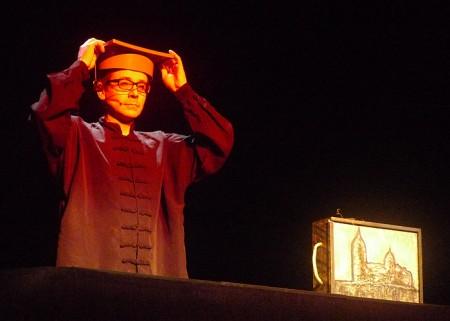 La Chana Teatro pone en escena Gaudeamus, una adaptación del Licenciado Vidriera de Miguel de Cervantes