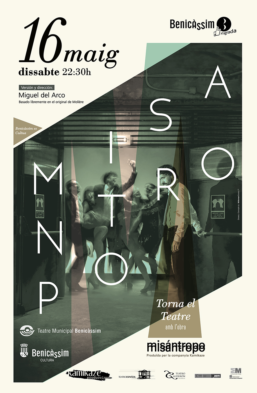 """Vuelve el Teatre con """"Misántropo"""" el 16 de mayo"""