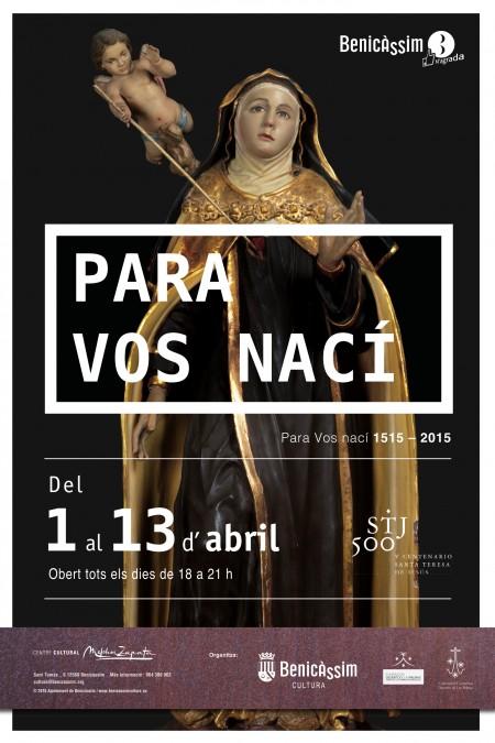 """""""Para Vos Nací"""" Santa Teresa de Jesús en el Melchor Zapata"""