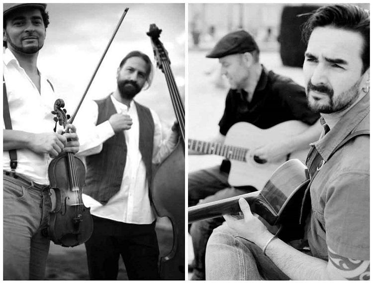 Menilmontant Swing abre el ciclo Altres Músiques con su música con aire manouche