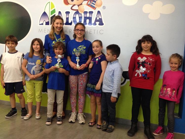 Excelente resultado de los alumnos de Santa Águeda y Palmerar en el Campeonato de Cálculo Mental Aloha