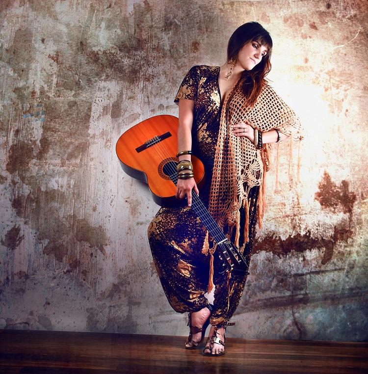 La cantautora Rozalén, en el ciclo Altres Músiques