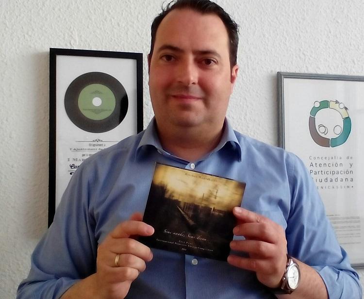 Cultura edita el CD del Ganador del Primer Premio del Certamen Tárrega de 2014