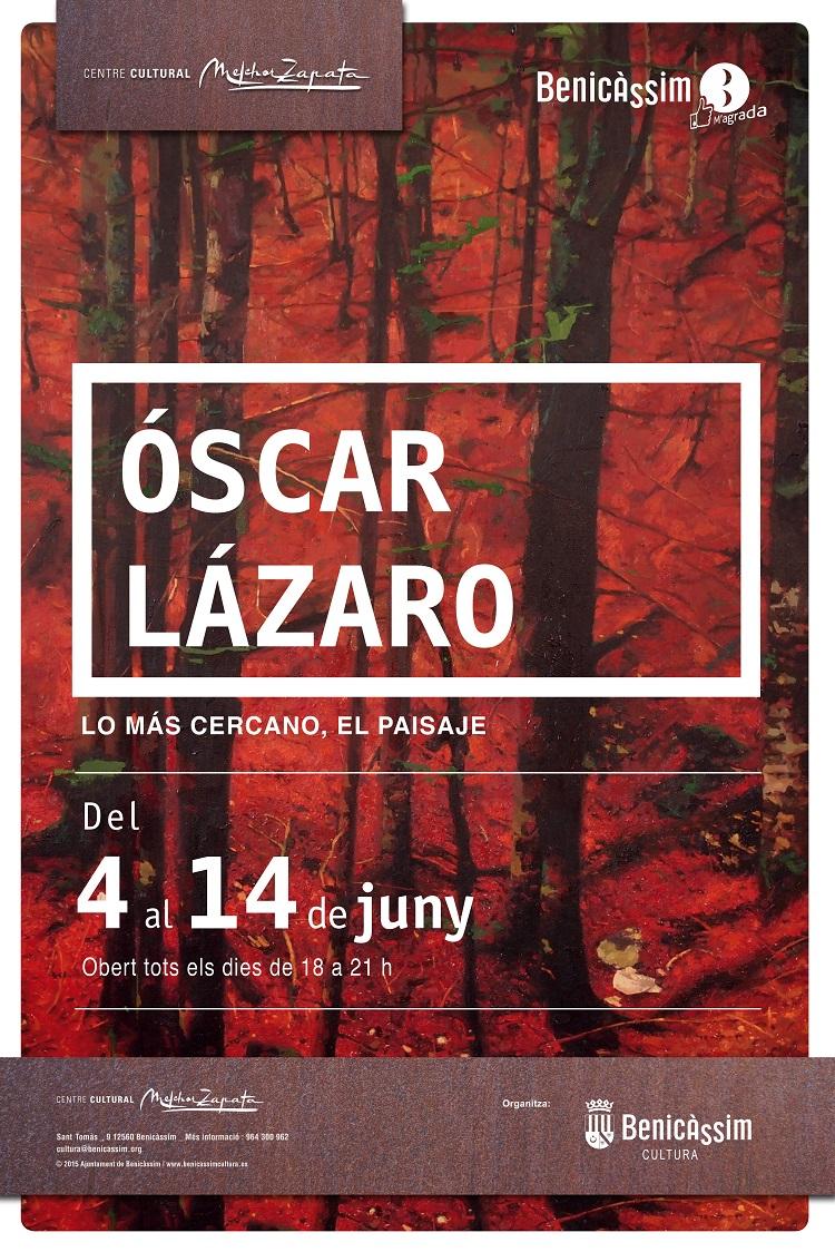 El Melchor Zapata acoge una muestra de Óscar Lázaro