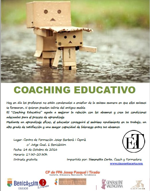 "TALLER ""COACHING EDUCATIVO"""
