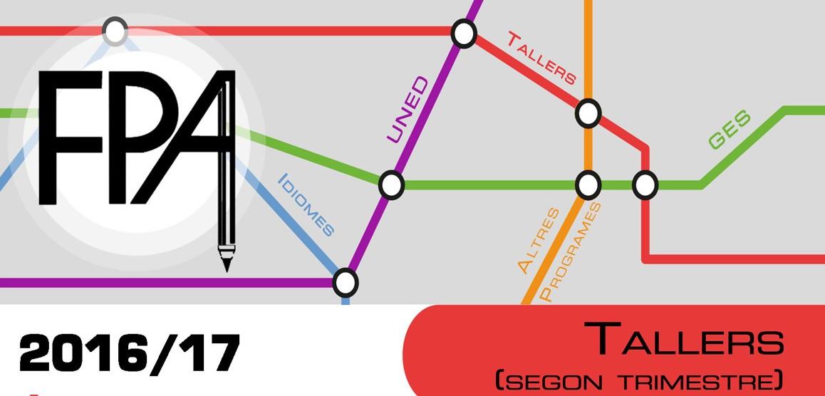 FPA TALLERES  2º PERIODO CURSO 2016-17