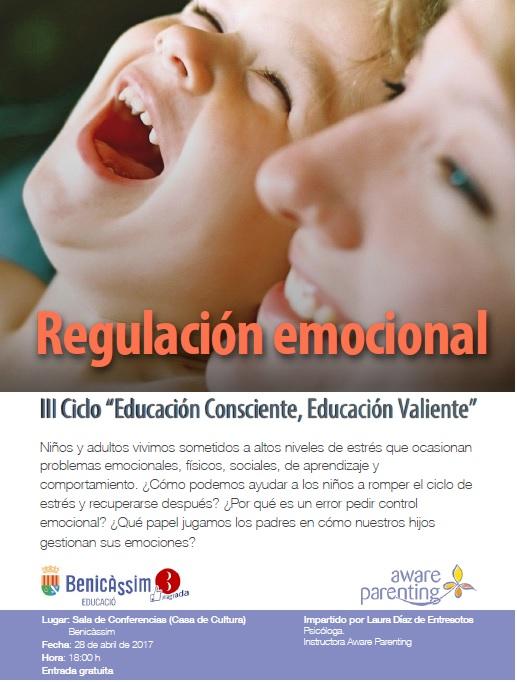 """Xarrada """"Regulació emocional"""" III cicle Educació Conscient, Educació valenta"""""""