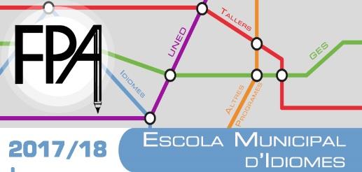 ESCUELA MUNICIPAL DE IDIOMAS curso 2017-18
