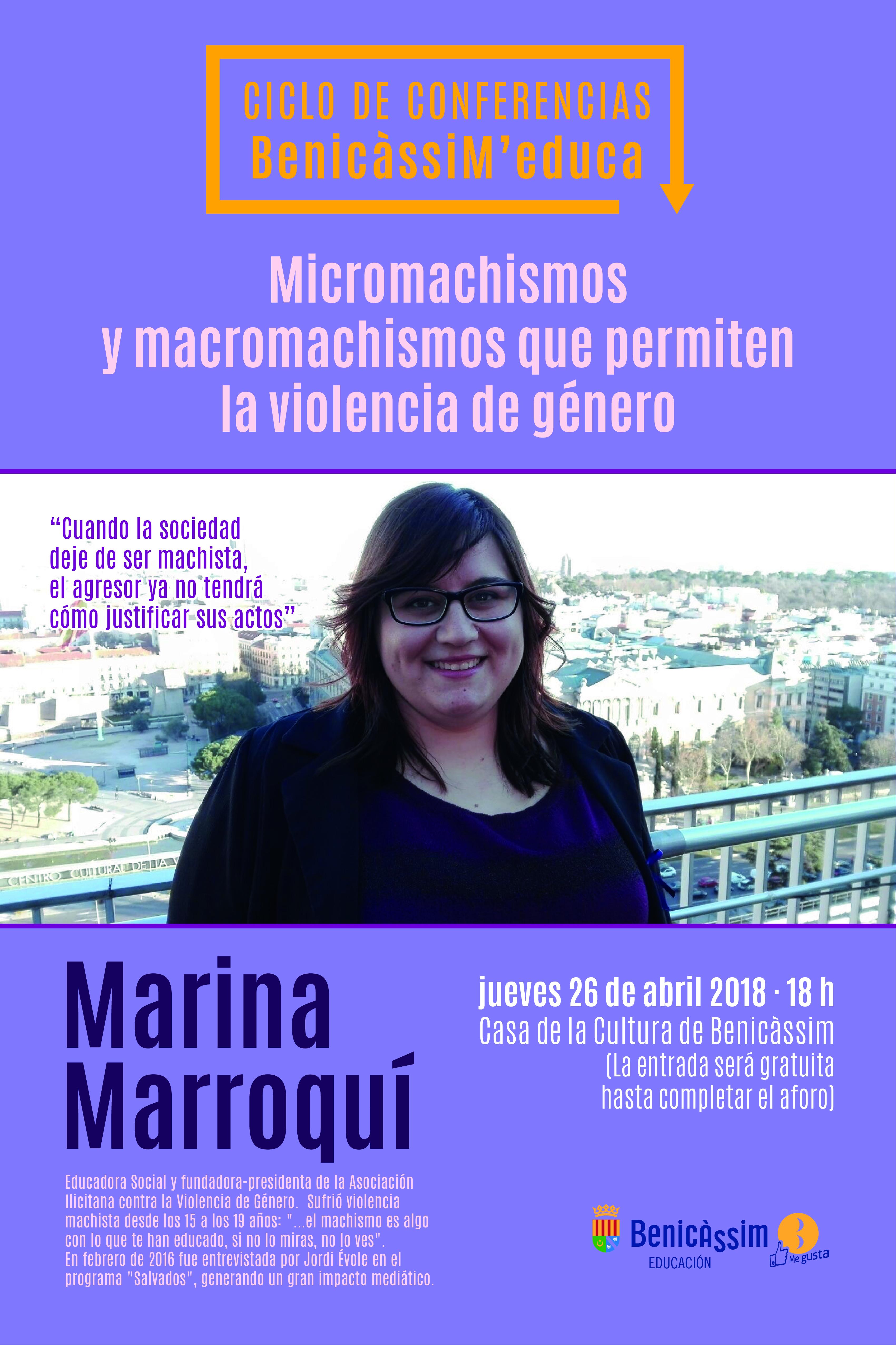 """Charla """"Micromachismos y macromachismos que permiten la violencia de género"""""""