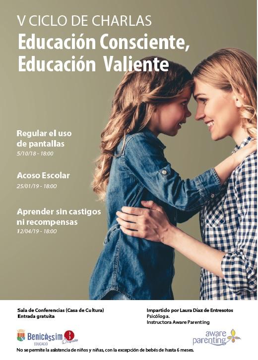 V Ciclo Educación Consciente, Educación Valiente