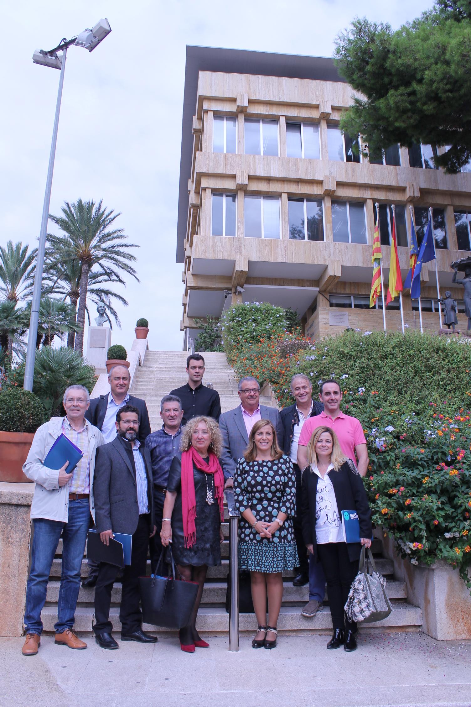 Representants signants municipis Pacte Territorial